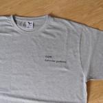 LOS lovecké potřeby černá na šedivém tričku